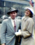 Ardis's dad and mom in New York years ago