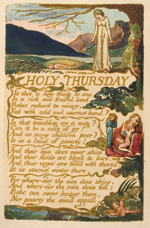 William Blake's Holy Thursday (1794)