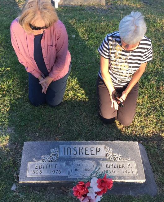 Inskeep-graveside